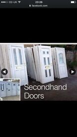 Cash payed for Upvc s/hand doors