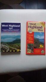 West Highland Way book & waterproof map
