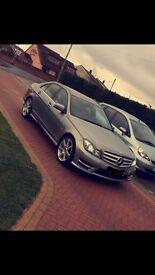 Mercedes benz c220 amg pack facelift