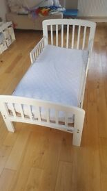 John lewis childrens bed with guard rail