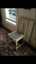 white decorative chair