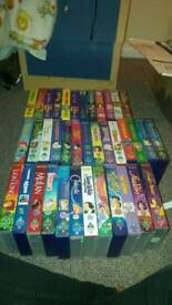 Large Disney Videos Collection