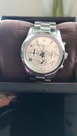 Michael kors genuine silver watch