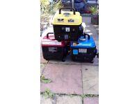 Generator good working order ideal for camping/caravan £55 each