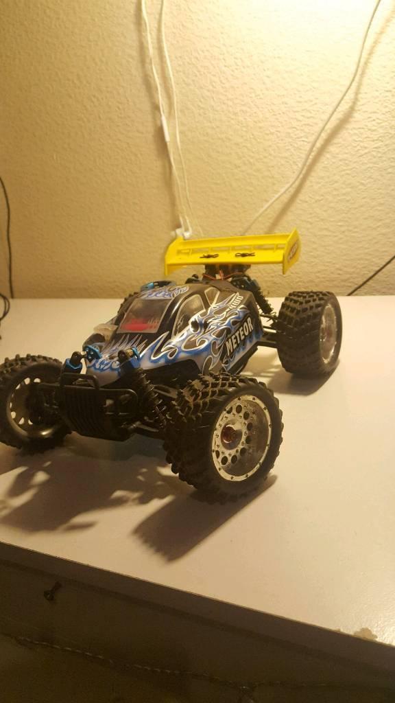 hsp meteor nitro rc mini buggy 1/16 scale