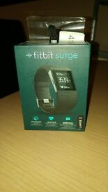 Hardly used Fitbit Surge large mens