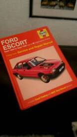 ford escort haynes book