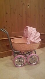 Baby Annabell pram - excellent condition