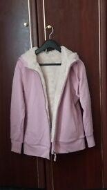 UNIQLO pink hoodie