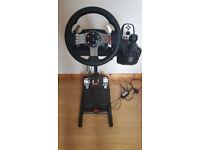 Logitech G27 force feedback Wheel
