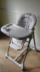 Mamas and Papas high feeding chair - model prima pappa