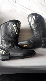 Ladies sidi bike boots size 7