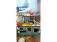Elc retro wooden kitchen