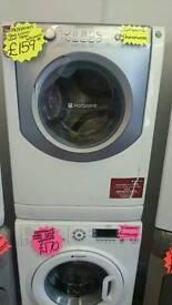 HOTPOINT 9KG 1200 SPIN WASHING MACHINE IN WHITE