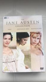 Jane Austen collection DVDs