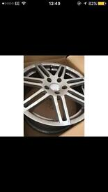 5x115 Vauxhall fitment rims wheels 18x8j 60mm centre bore