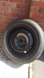 Brand new Michelin wheel and tyre