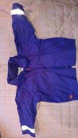 TOGZ Waterproof Coat, Purple, excellent condtion -12-18 months
