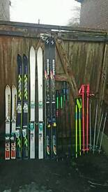 Joblot of ski's and accesories