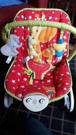 Baby rocker chair with music and vibrate