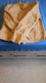 Gap corded jacket