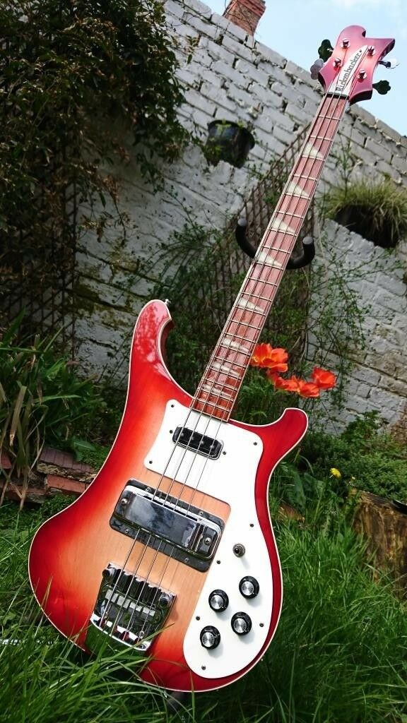 8d38dadc30 Rickenbacker 4003 bass guitar in fireglo with hardcase, 2005 | in New ...