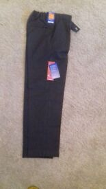 Boys school trousers brand new never been worn from marks an spencer slim fit but adjustable waist