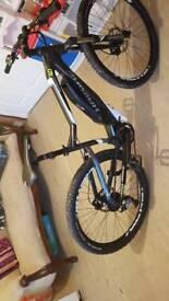 hybrid mountain bike hard seven 4.0