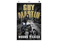 Guy Martin Hard Back Book