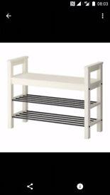 IKEA hemnes shoe bench storage 20£