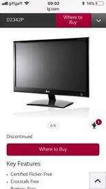 "HD 1080p 3D LED 23"" pc monitor"