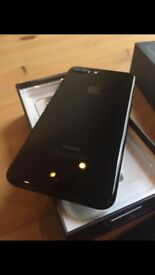 iPhone 7 Plus 128GB Unlocked Jet Black in Mint Like Brand New Condition