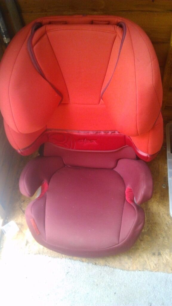 Cybex car booster seat group 2-3