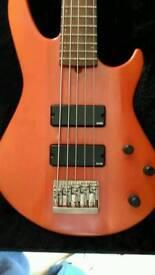 Godin BG5 bass guitar canada 1997