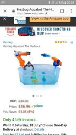 Aquabot hexbug harbour. Brand new. Unopened.