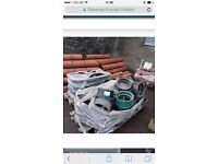 9 inch drainage pipe and fittings job lot