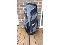Nike golf cart bag with carry strap