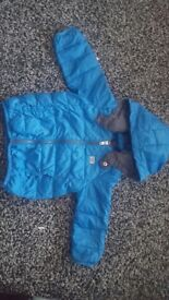 ARMANI BABY BOYS DOWN COAT 18 MTHS