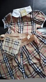 Burberry dresss x 2. Size 1 and size 2