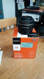 Sony alpha 50mm lens 1.8