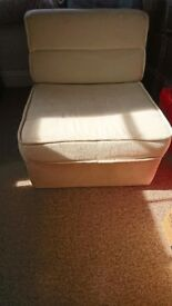 John Lewis single pull out chair bed