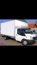 Man with box van cheap quote removal and haulage