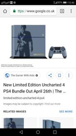 Uncharted ps4 1tb