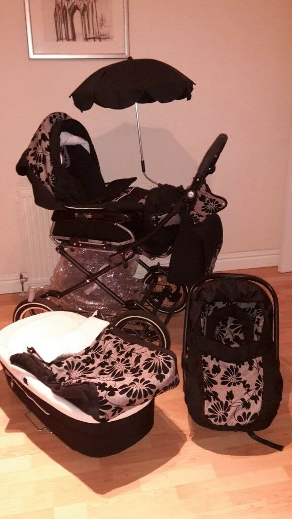 Baby style 3in1 Pram & Accessories