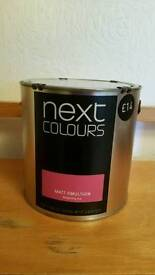 Paint Next Colours Raspberry - New