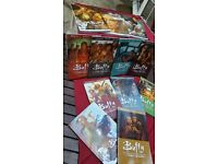 COLLECTION OF 12 BUFFY GRAPHIC NOVELS IN EXCELLENT CONDITION