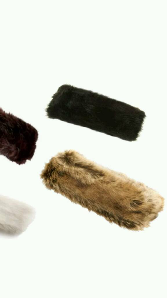 Fur head bands