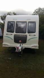 2011 Bailey Olympus 525 Caravan and Awning for Sale