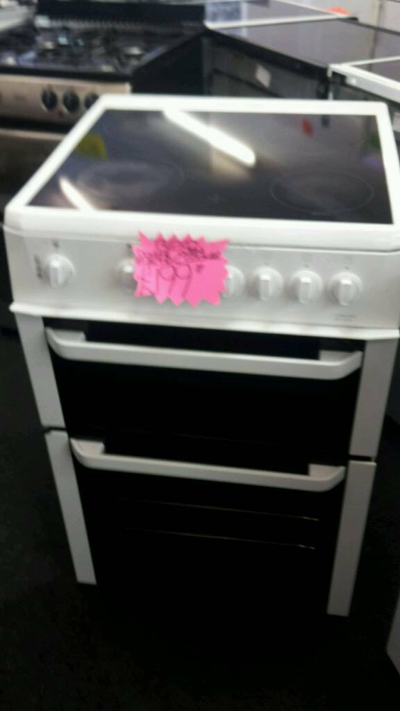 Beco white 60 cm double oven electric cookerin Lincoln, LincolnshireGumtree - Beco white 60cm double oven electric cooker in good clean working order can do same day delivery for more information text or call 07716535788