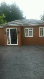 1 bedroom flat bungalow new build studio